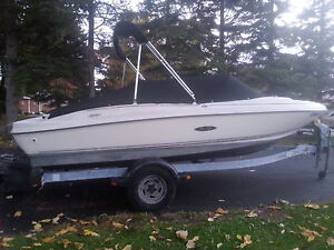 SEARAY 17.5 SPORT WITH TRAILER