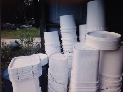 10-20L Buckets (Food Grade) with lids (Free Delivery*) Penrith Penrith Area Preview