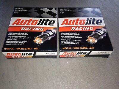 EIGHT(8) Autolite AR3933 Racing Spark Plug SET fits Champion C59CX NGK R5671A9  ()