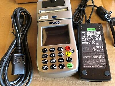 First Data Fd400ti Wireless Credit Card Terminal