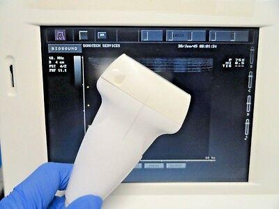 Biosound Esaote La523 10-5 Mhz Linear Array Ultrasound Transducer 14901