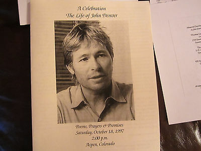 John Denver....Memorial Program...19 years gone.