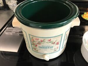 Collector's Edition Rival Crock Pot, missing lid