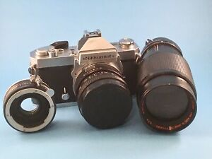 Nikkormat 35 mm camera