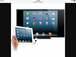 Cord to hook iPad/iPhone to tv