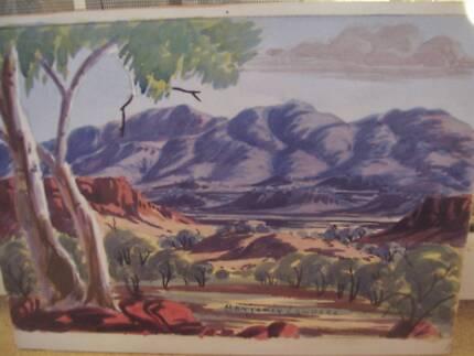 Benjamin Landara Original Water Colour