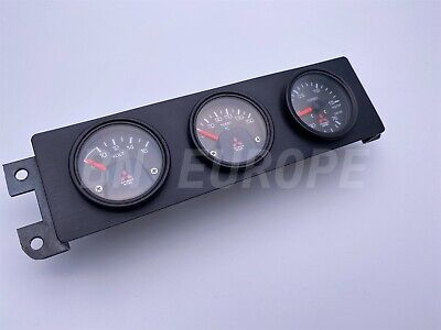 MITSUBISHI EVO EVOLUTION LANCER 1 2 3 4 5 6 7 8 9 GSR RALLIART JDM TRIPLE GAUGE