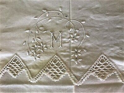 Single double sheets 1 pcs and Half 100/% Cotton Gifts Embroidery with name