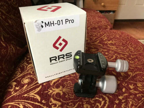 Really Right Stuff MH-01 swivel head   beautiful condition
