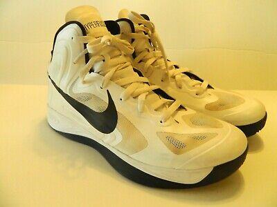 9c2b1e8e2c6 NIKE HYPERFUSE TB 2012 Shoes White/Black SZ 11.5 ~ 12 525019-100 hyperdunk