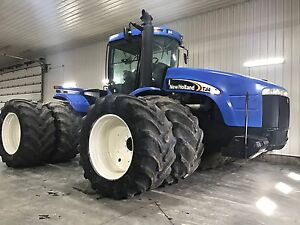 NEW HOLLAND TJ450/4650 eng hours