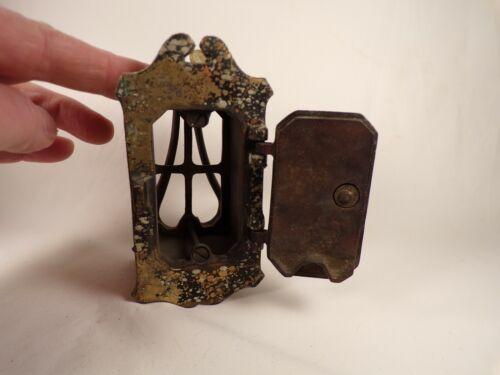 Vintage / Antique Brass Door Knocker with Small Door Peephole Speakeasy Door