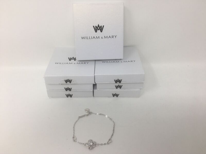 WHOLESALE LOT 7 BRACELETS .925 Sterling Silver—-----FREE SHIPPING