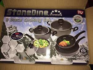 StoneDine 8 Piece Cooking Set - NEW Balwyn North Boroondara Area Preview