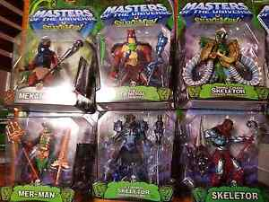 Masters of the Universe He-Man vs Snake Men Collection Huntingdale Gosnells Area Preview