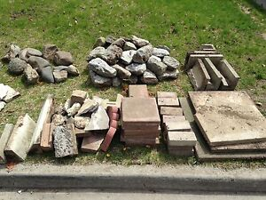 Landscaping rocks for free