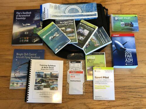 Sport Pilot Student Course Materials for Hang Glider Trike, WSC-Trike Study Prep