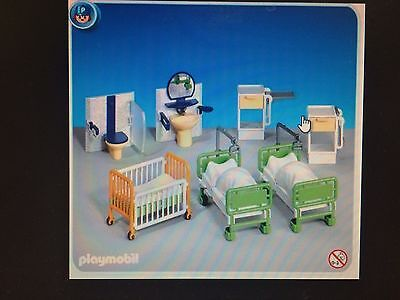Playmobil 7921 Hospital Ward New in Sealed Bag!