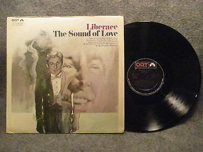 Love 33 Rpm Records - 33 RPM LP Record Liberace The Sound Of Love Dot Records DLP 25901