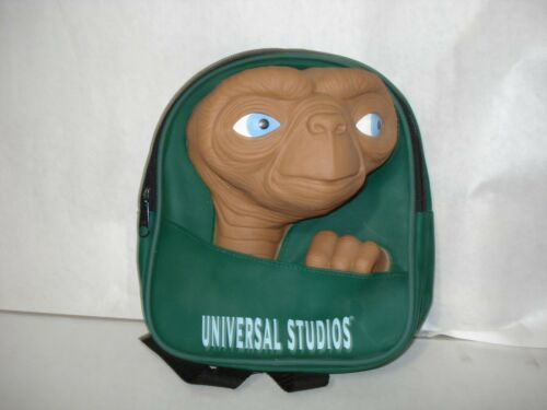 E.T.  ~ BACK PACK ~ UNIVERSAL STUDIOS ~ VERY RARE ~ MINT CONDITION