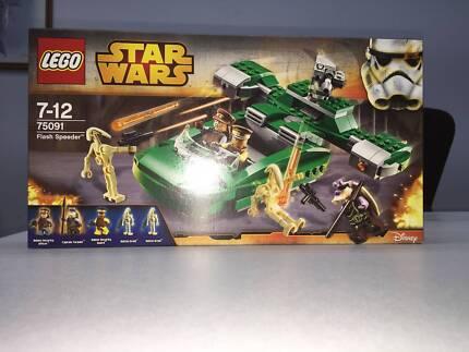 LEGO STAR WARS 75091 FLASH SPEEDER Ashfield Ashfield Area Preview