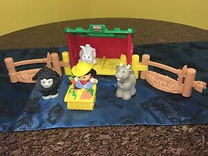 Fisher Price Little People Farm Barn Mermaid Waters Gold Coast City Preview