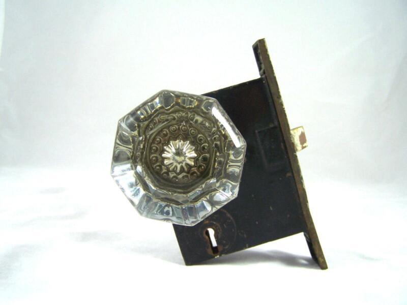 Vintage crystal door knobs ebay for Door knobs ebay