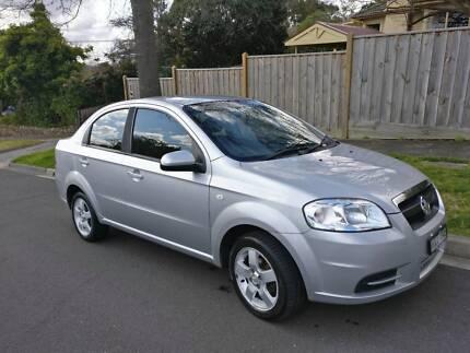 2007 Holden Barina Sedan Manual