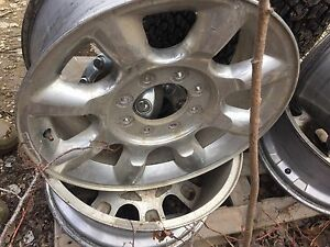Factory rims for Ford superduty