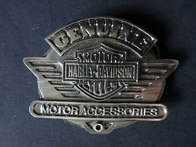 Harley-Davidson 1995 Genuine Motor Accessories Logo Belt Buckle, Limited Ed.