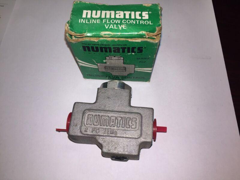 NUMATICS 2FC2B FLOW CONTROL VALVE NOS