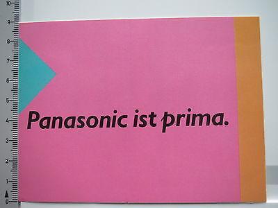 Aufkleber Sticker Panasonic - Audio - Video - Stereo (S1496) Panasonic Audio-video