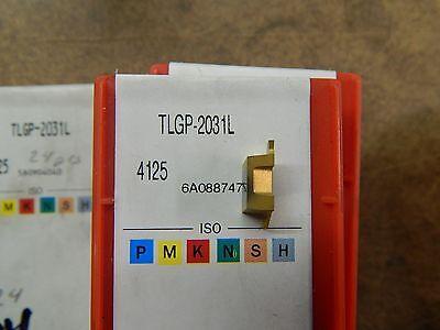 4 Sandvik Tlgp-2031l 4125 Carbide Groove Inserts
