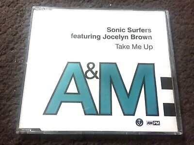0633 SONIC SURFERS FEAT. JOCELYN BROWN TAKE ME UP CD SINGLE A&M PM