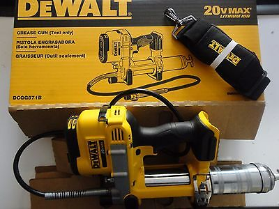 DEWALT DCGG571B 20V 20 Volt Max Li-Ion Grease Gun Tool Only New In Box