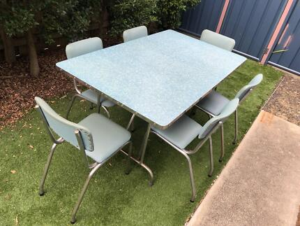 Vintage Formica Dining Table