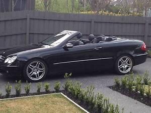 2004 Mercedes-Benz CLK320 Convertible AMG Melbourne CBD Melbourne City Preview