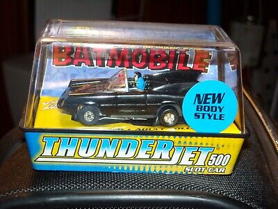 Johnny Lightning slot car - BATMOBILE - in classic black - NIB - BEST (Best Classic Car Auctions)