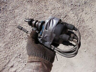 Ford 601 Workmaster Tractor Engine Motor Distributor Drive Assembly W Wires
