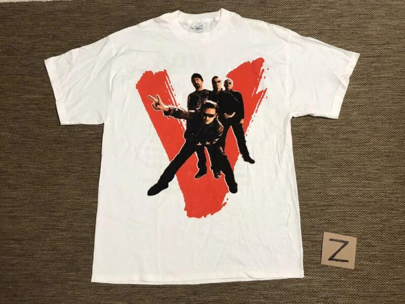 U2 Vertigo 2005 Concert Tour T-Shirt Size Large T Shirt L
