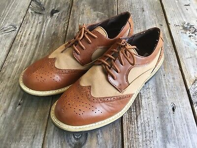 Reaction By Kenneth Cole Wing Tip Shoes, Size 6.5