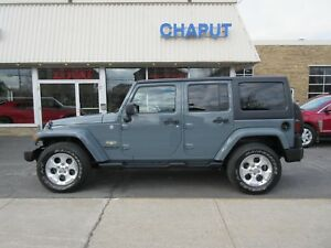 2015 Jeep Wrangler Unlimited Sahara *CUIR*