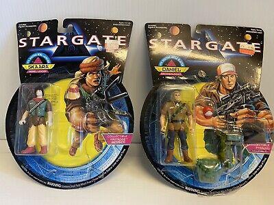 2 Vintage Rare 1994 Hasbro Toys SKAARA & Daniel Action Figures