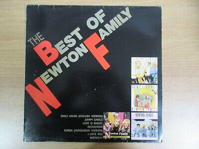 Newton Family – The Best Of Newton Family 1989 Korea LP