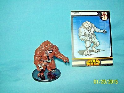 WotC Star Wars Miniatures Yuzzem, RotS 54/60, Fringe, Common