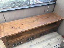 Tv cabinet rustic wood Oakhurst Blacktown Area Preview