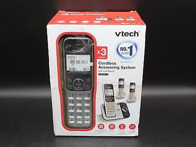 VTech DECT 6.0 Expandable Cordless Phone w Answering Machine 3 Handsets CS5329-3