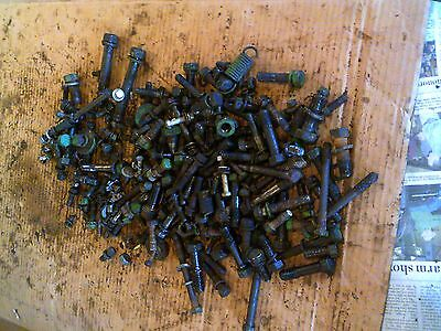 John Deere Mt Tractor Box Nuts Bolts Parts Pieces Etc.