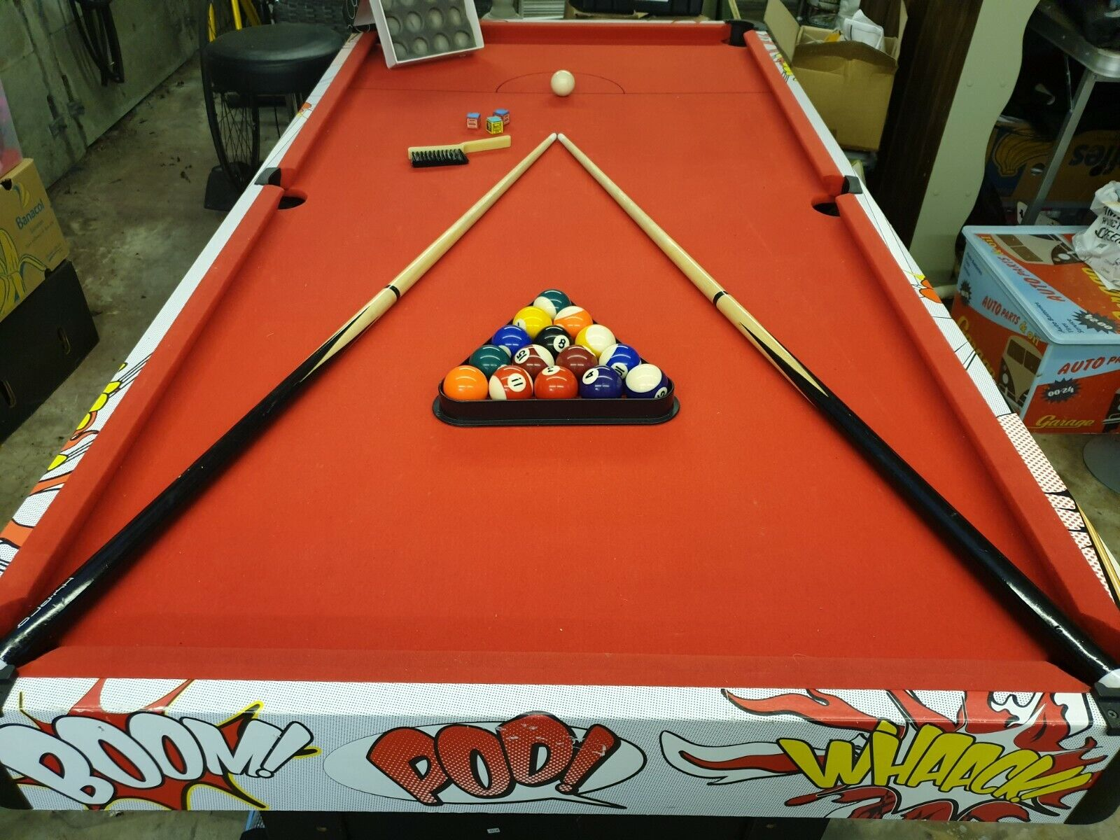Hy-PRO Comic themed Pool Table : 6ft x 3ft : Mancave