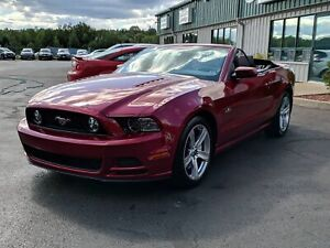 2014 Ford Mustang GT GT PACKAGE/CONVERTIBLE/LEATHER/EXCELLENT...